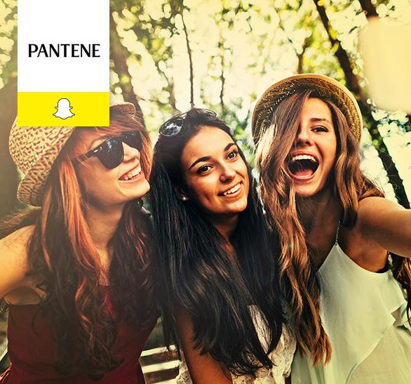Caso de éxito Pantene en Snapchat