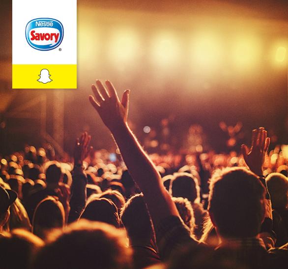Caso de éxito Nestlé en Snapchat