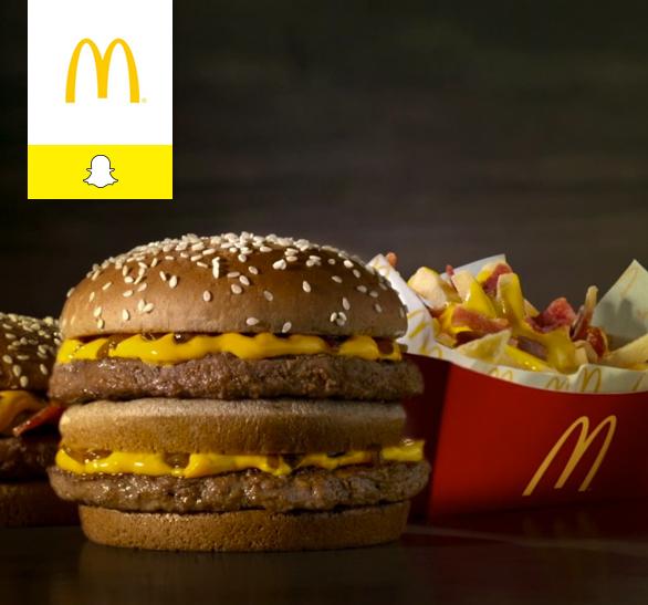 Caso de éxito McDonald's en Snapchat