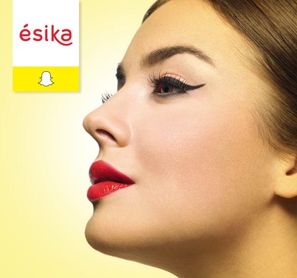 Ésika juega con Realidad Aumentada