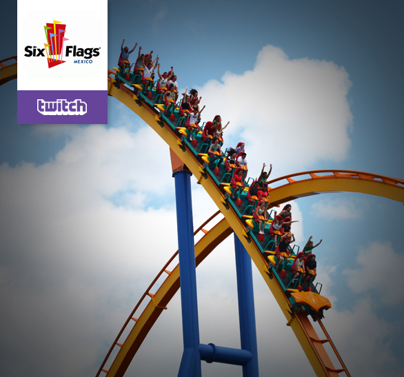 Caso de Éxito: Six Flags en Twitch