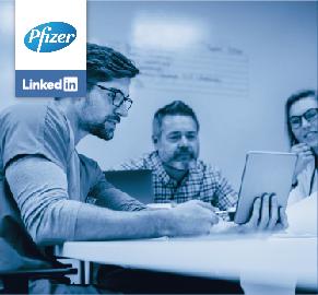 Caso de éxito: Pfizer en LinkedIn